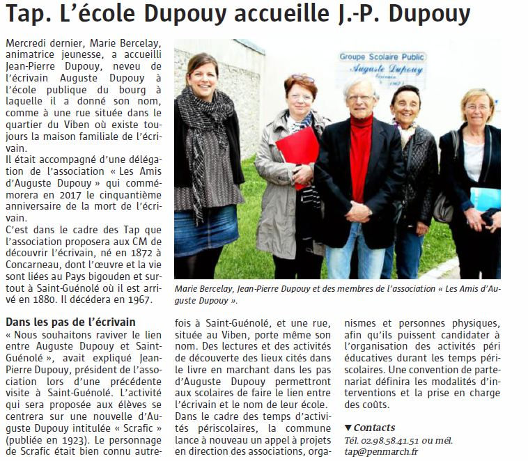 article J-P Dupouy