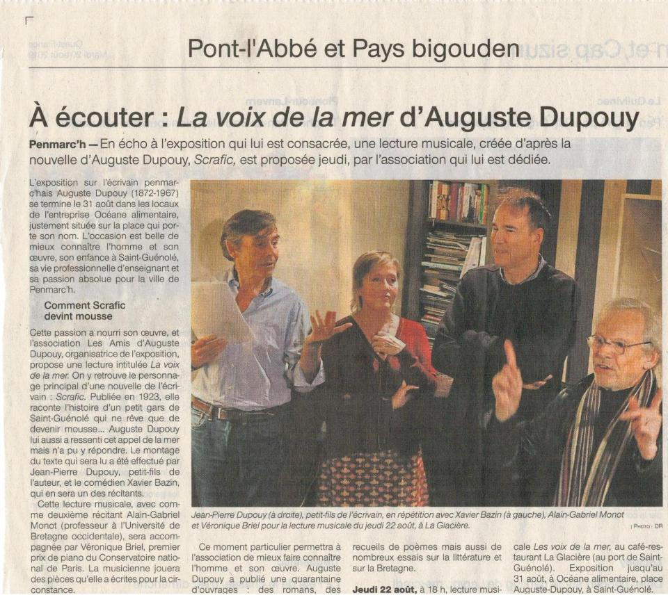 Ouest-France, 20-8-2019