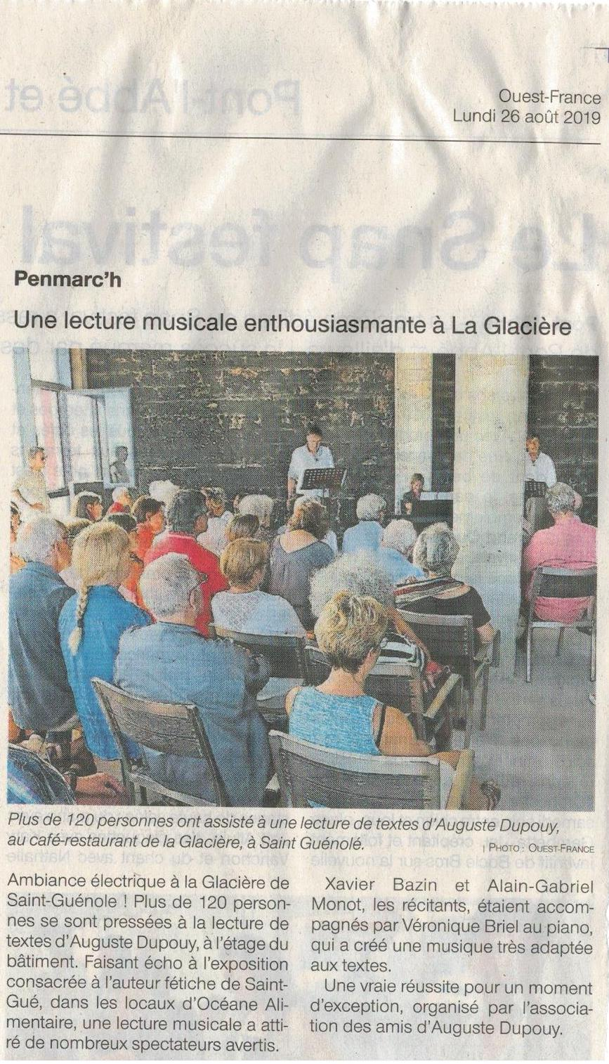 Ouest-France, 26-8-2019